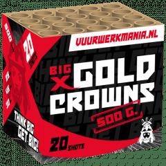 GEISHA 'BIG X' GOLD CROWNS 20'S (nc)